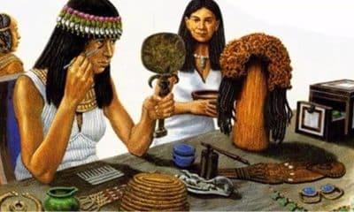 El maquillaje en Egipto