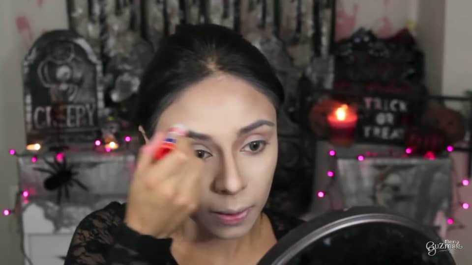 maquillaje de bruja 2020 nena guzman borramos las cejas