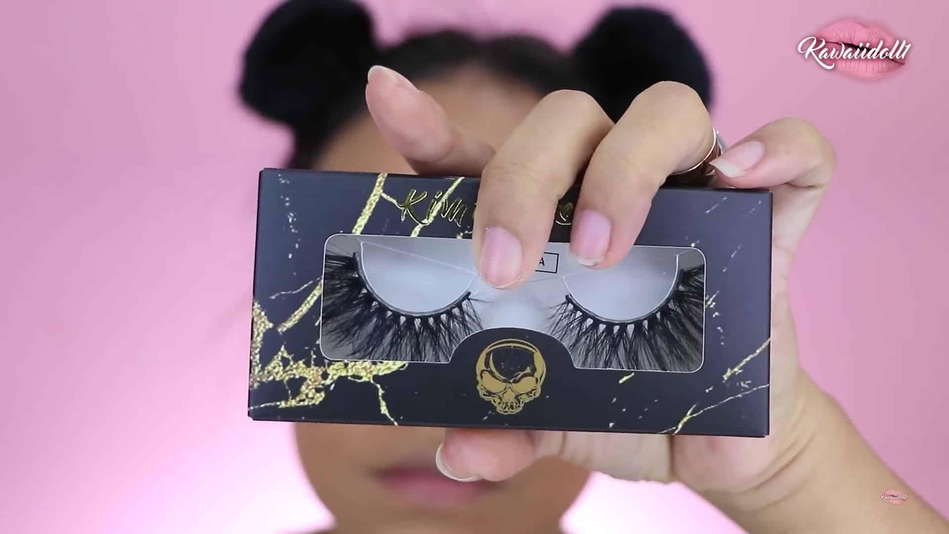 maquillaje de fantasía rapunzel 2020 kawaiidoll1 pestañas postizas.