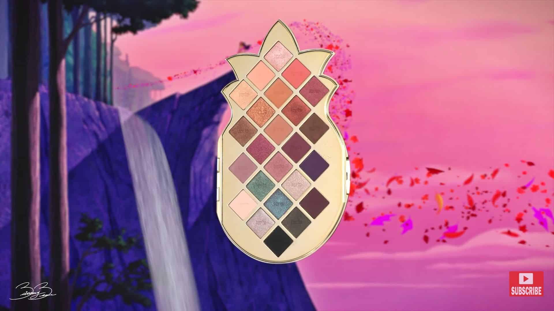 Maquíllate como la princesa Pocahontas,BrittanyBearMakeup 2020. paleta de sombras.