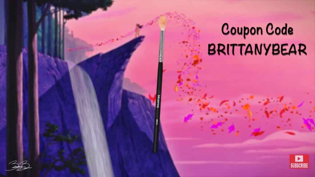 Maquíllate como la princesa Pocahontas,BrittanyBearMakeup 2020.pincel coupon code.