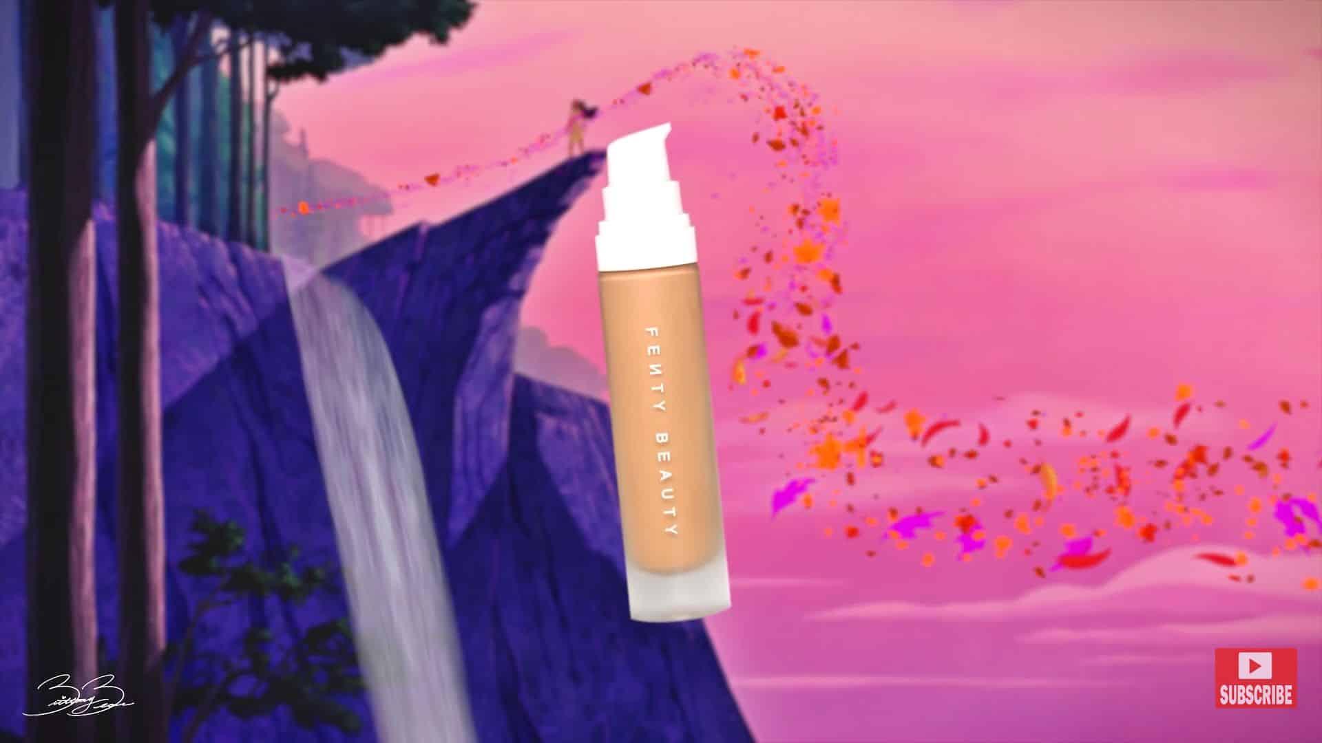 Maquíllate como la princesa Pocahontas,BrittanyBearMakeup 2020. base de maquillaje fenty beauty.