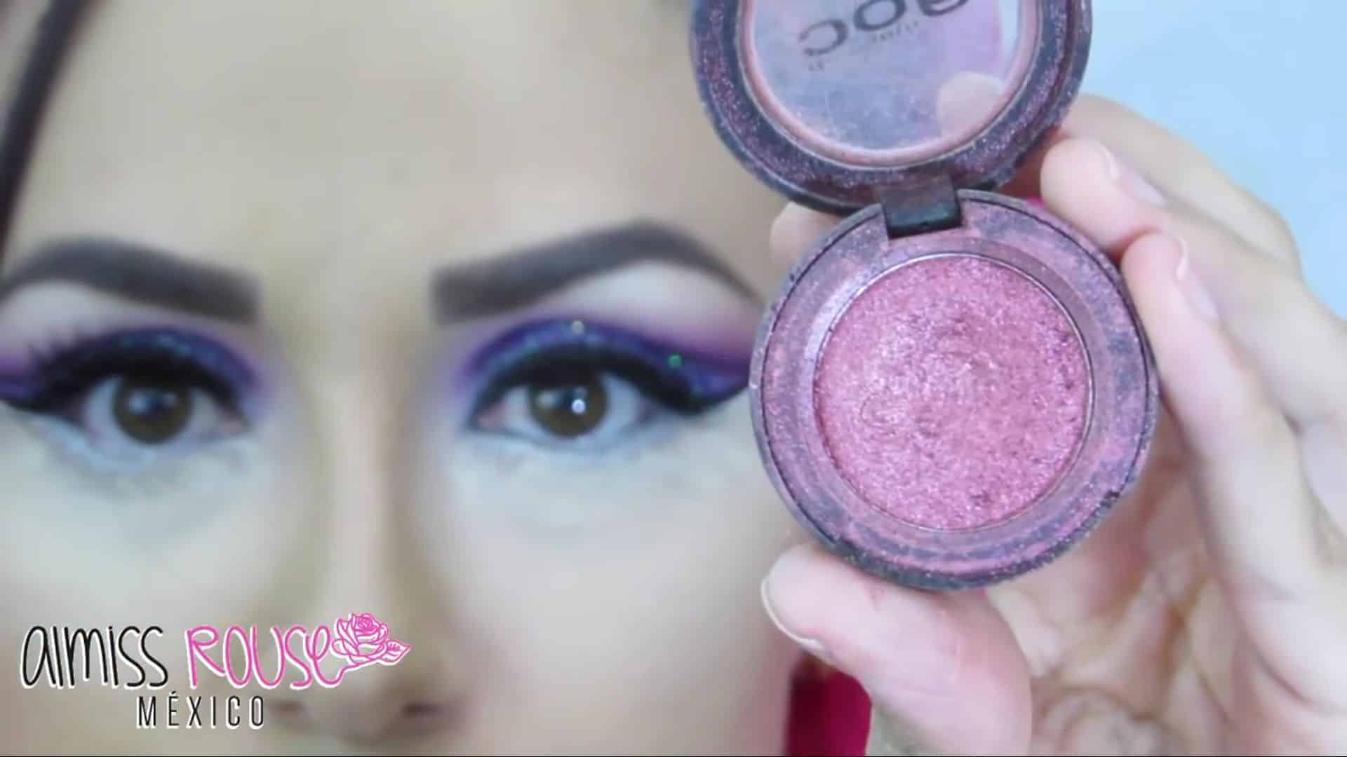 Paso a paso maquillaje Árabe almiss rouse 2020,  sombra rosa