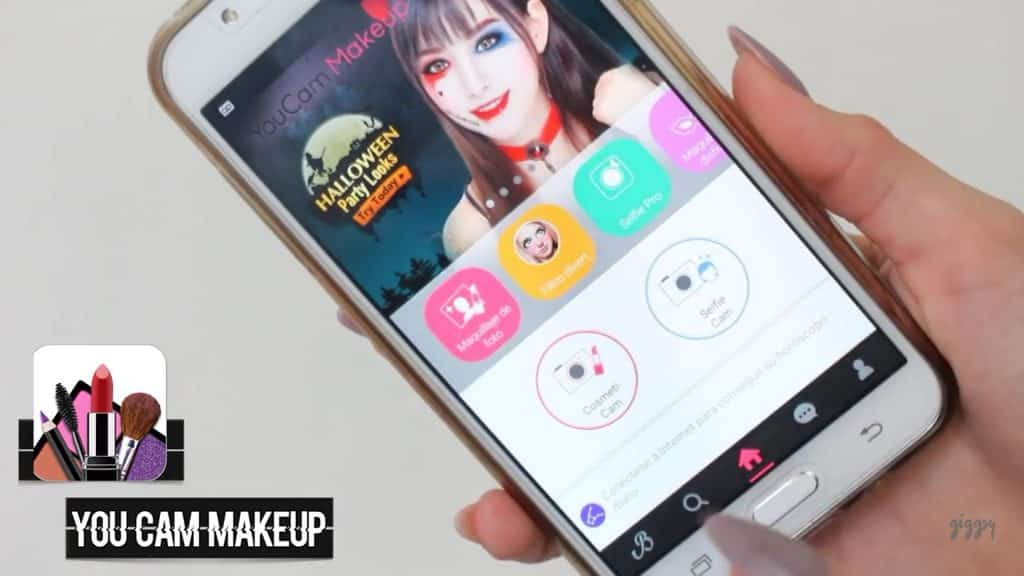 Tres app que toda chica debe tener en su celular Giggsy 2020, You cam makeup