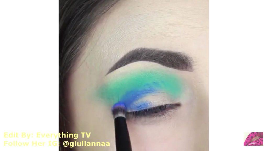 Hermosos diseños de fantasía para los ojos Samantha Hermoso 2020,sombra color azul rey para el párpado móvil.