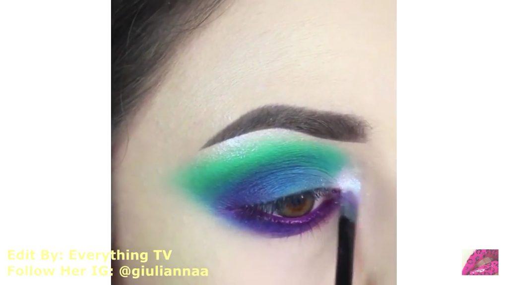Hermosos diseños de fantasía para los ojos Samantha Hermoso 2020, sombra blanca para el lagrimal
