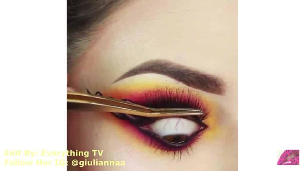 Hermosos diseños de fantasía para los ojos Samantha Hermoso 2020, pestañas postizas