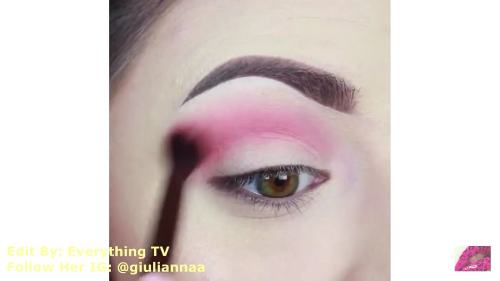 Hermosos diseños de fantasía para los ojos Samantha Hermoso 2020,sombra rosa para la cuenca del ojo.