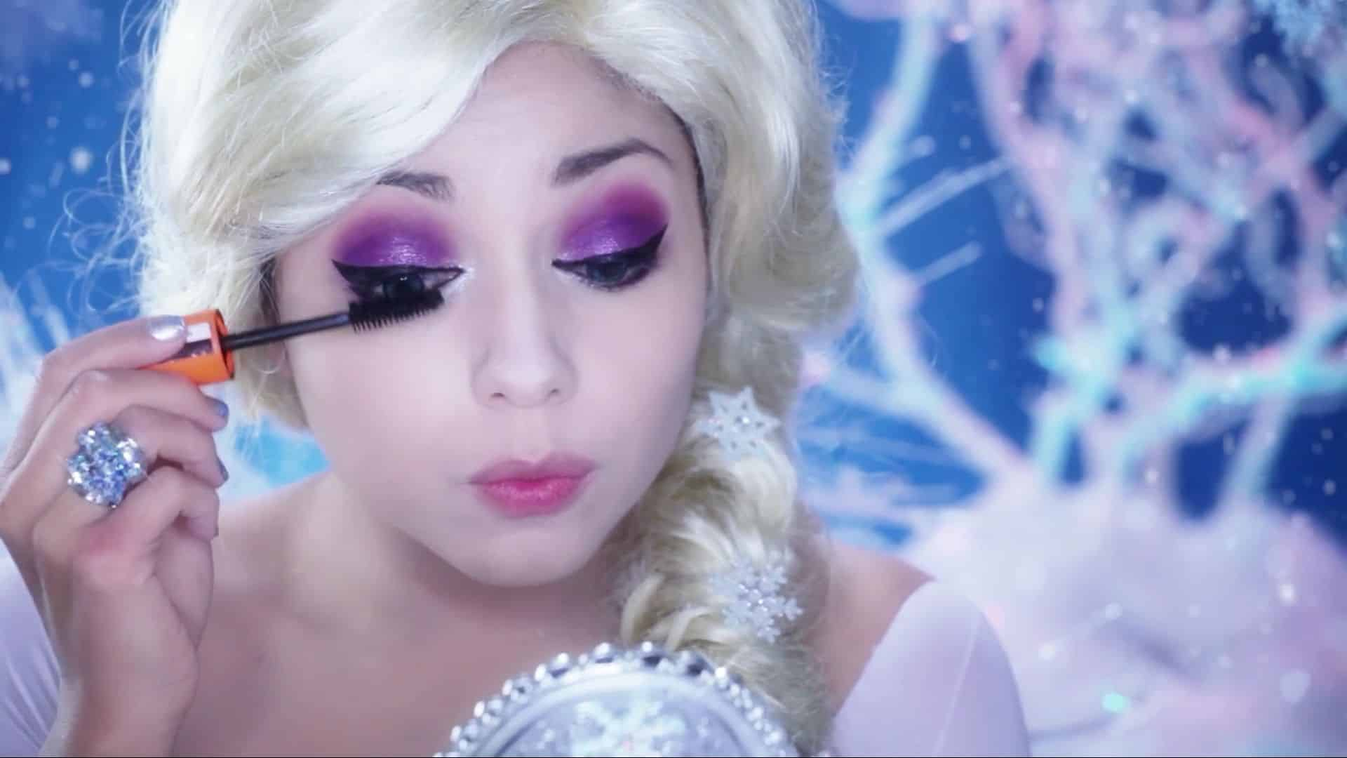 Maquíllate como la princesa Elsa Charisma Star 2020, mascara de pestañas