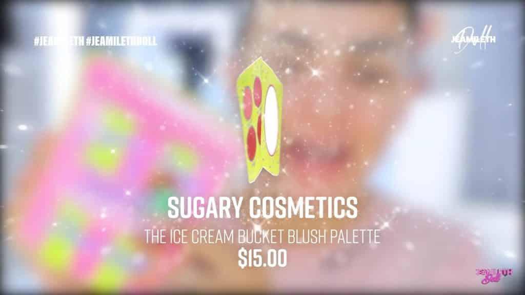 sugary cosmetics colección 2020 Jeamileth Doll2020,rubor