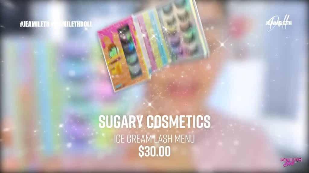 sugary cosmetics colección 2020 Jeamileth Doll2020, pestañas postizas
