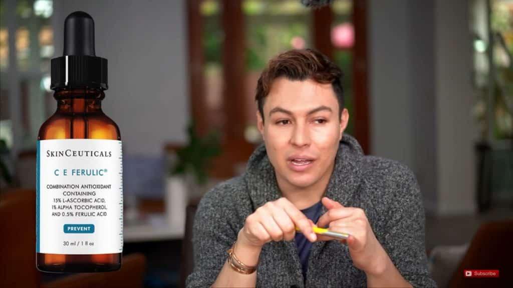 Productos que usa RosyMcMichael Para cuidar Su Piel Hola Yasmany 2020, vitamina c para el rostro.