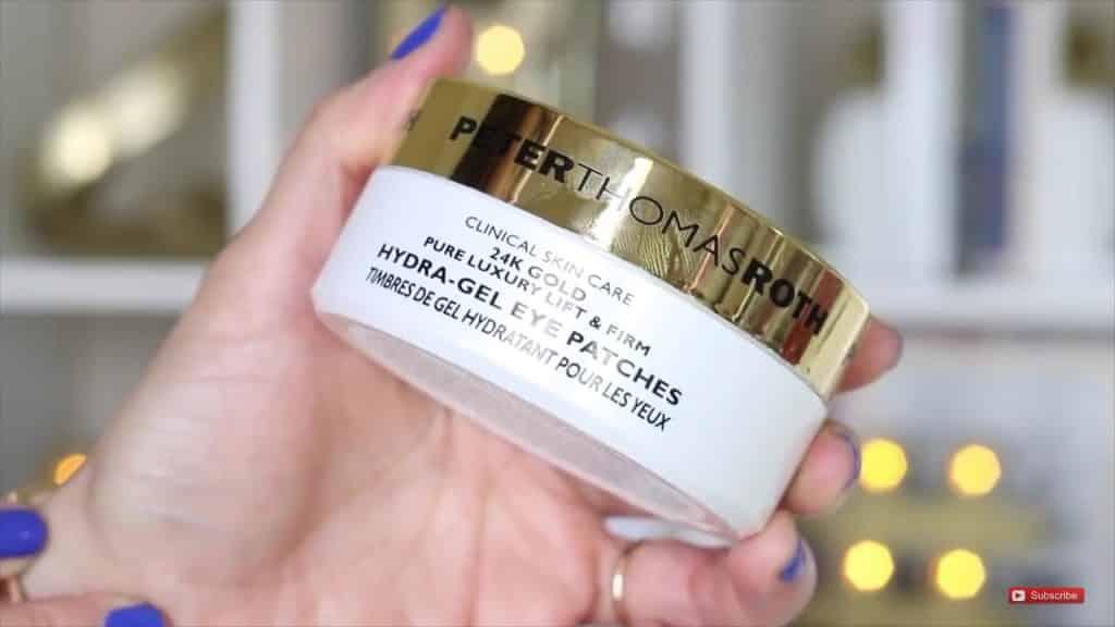 Productos que usa RosyMcMichael Para cuidar Su Piel Hola Yasmany 2020,peterthomasroth parches de ojos