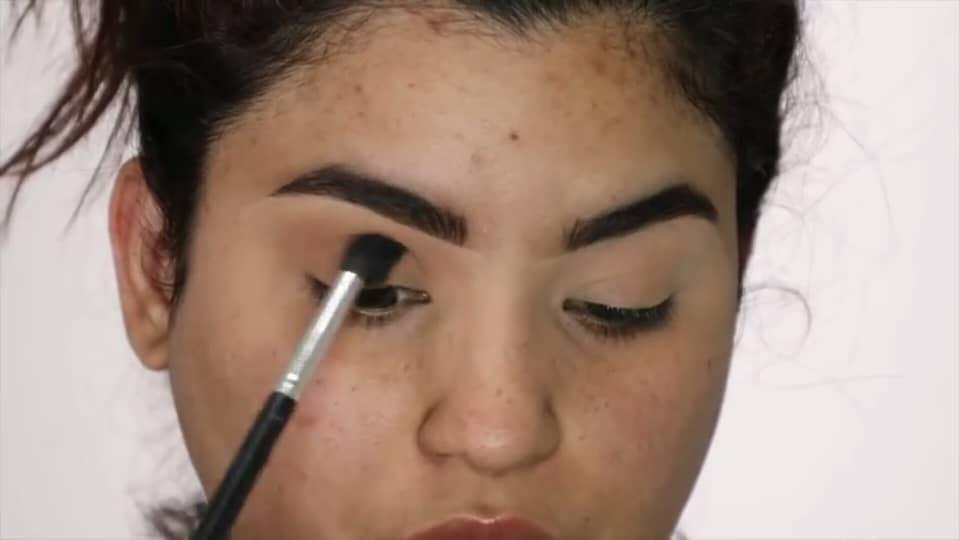 Rocibella maquillaje de novia fácil 2020 aplicación sombra de ojos