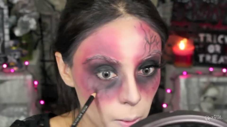 maquillaje de bruja 2020 nena guzman  maquillamos las venas