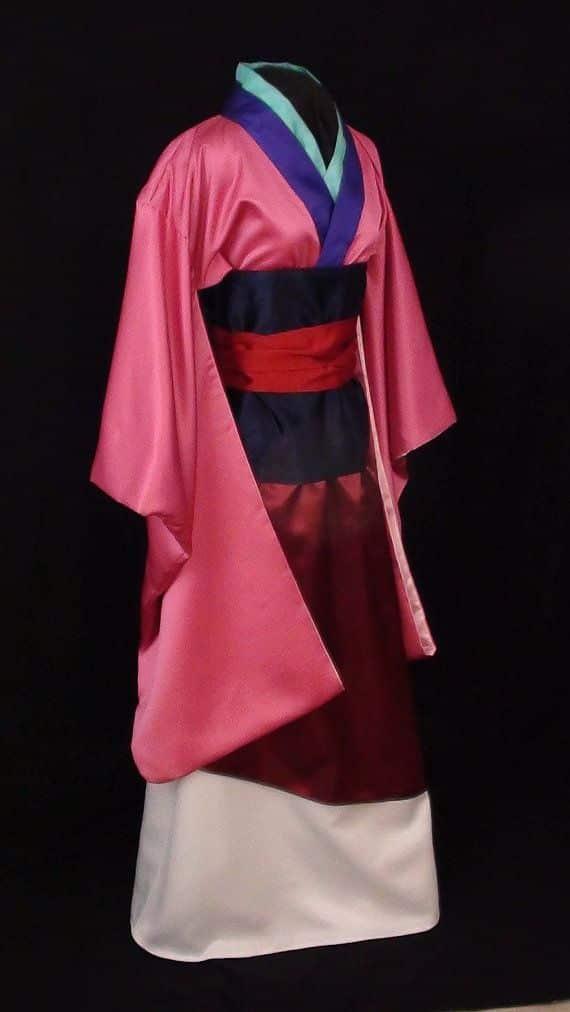 Maquíllate como la hermosa  Mulan Neverbug Creations LLC 2020, traje de mulan