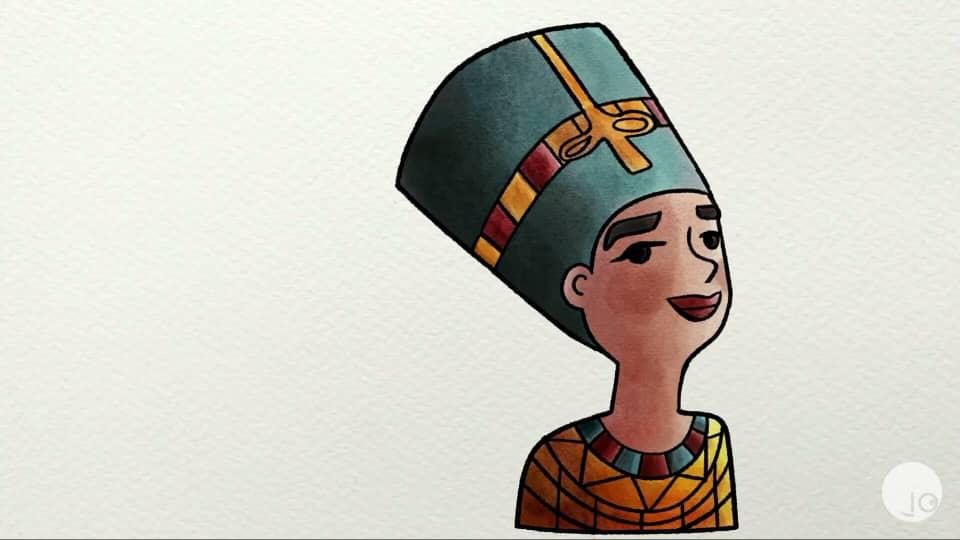 ¿Por qué nos maquillamos? curiosa mente 2020,  Egipcios, símbolo sagrado,rituales y belleza.