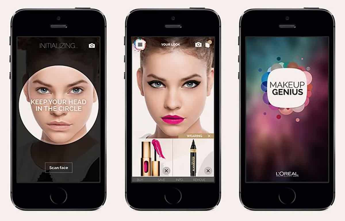 Aplicaciones gratis de maquillaje para redes sociales