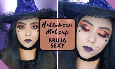 maquillaje de bruja fácil y rápido 2020
