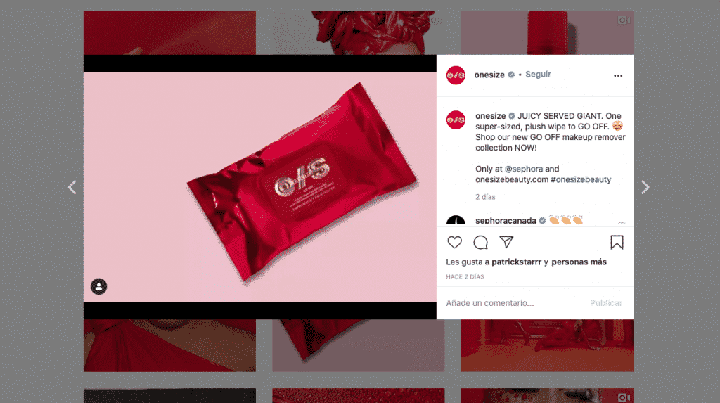 Producto de belleza Patrick Starrr Sephora 2020