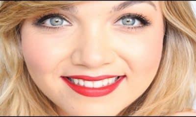 Maquillaje sencillo para unos labios rojos perfectos y con intensidad de color