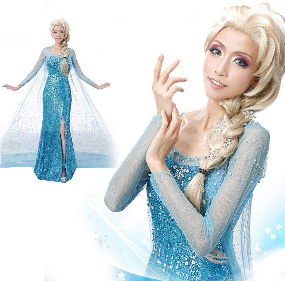 Maquíllate como la princesa Elsa de Frozen