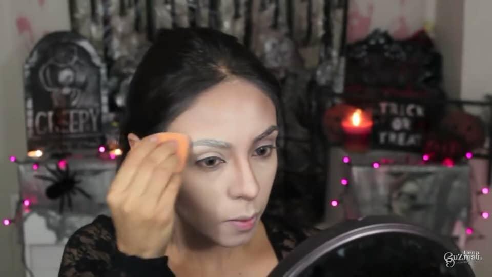 maquillaje de bruja 2020 nena guzman sellamos la ceja con polvo