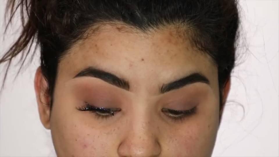 Rocibella maquillaje de novia fácil 2020 pestañas postizas