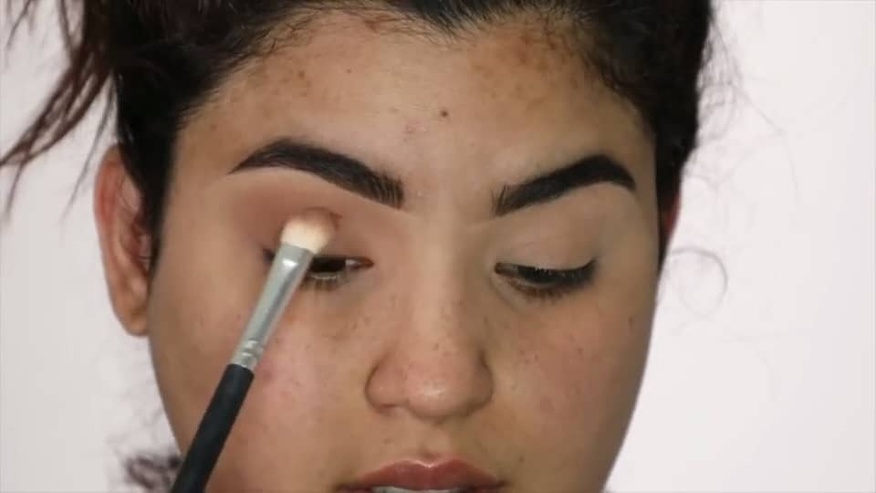 Rocibella maquillaje de novia fácil 2020 aplicación segunda sombra