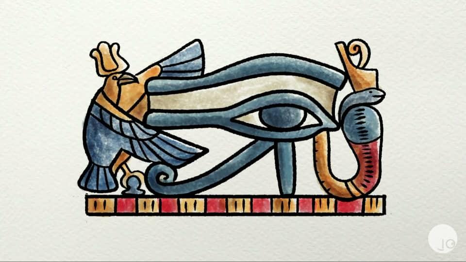 ¿Por qué nos maquillamos? curiosa mente 2020, ojo Egipcio. espiritualidad y belleza, símbolo.