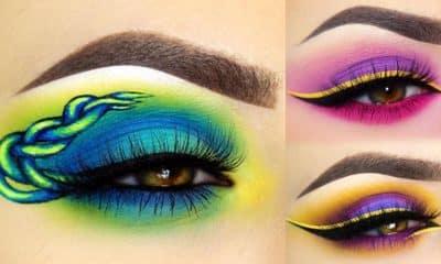 Hermosos diseños de fantasía para los ojos