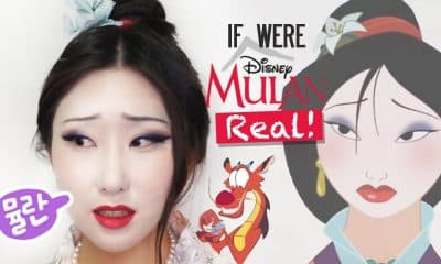 Maquíllate como la hermosa  Mulan