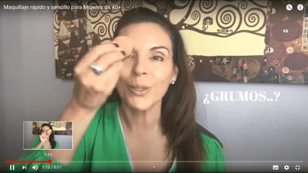 Rápido y sencillo Make Up express para chicas de 40 años o más