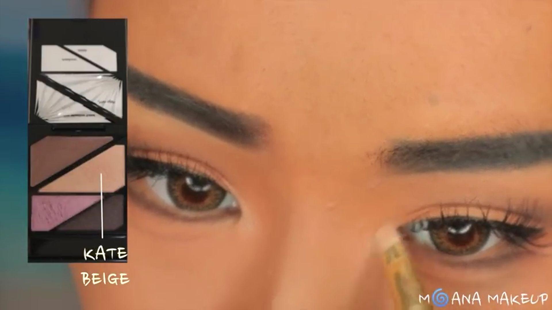 Maquíllate como Moana fukuse yuuriマリリン 2020. sombra beige para los ojos