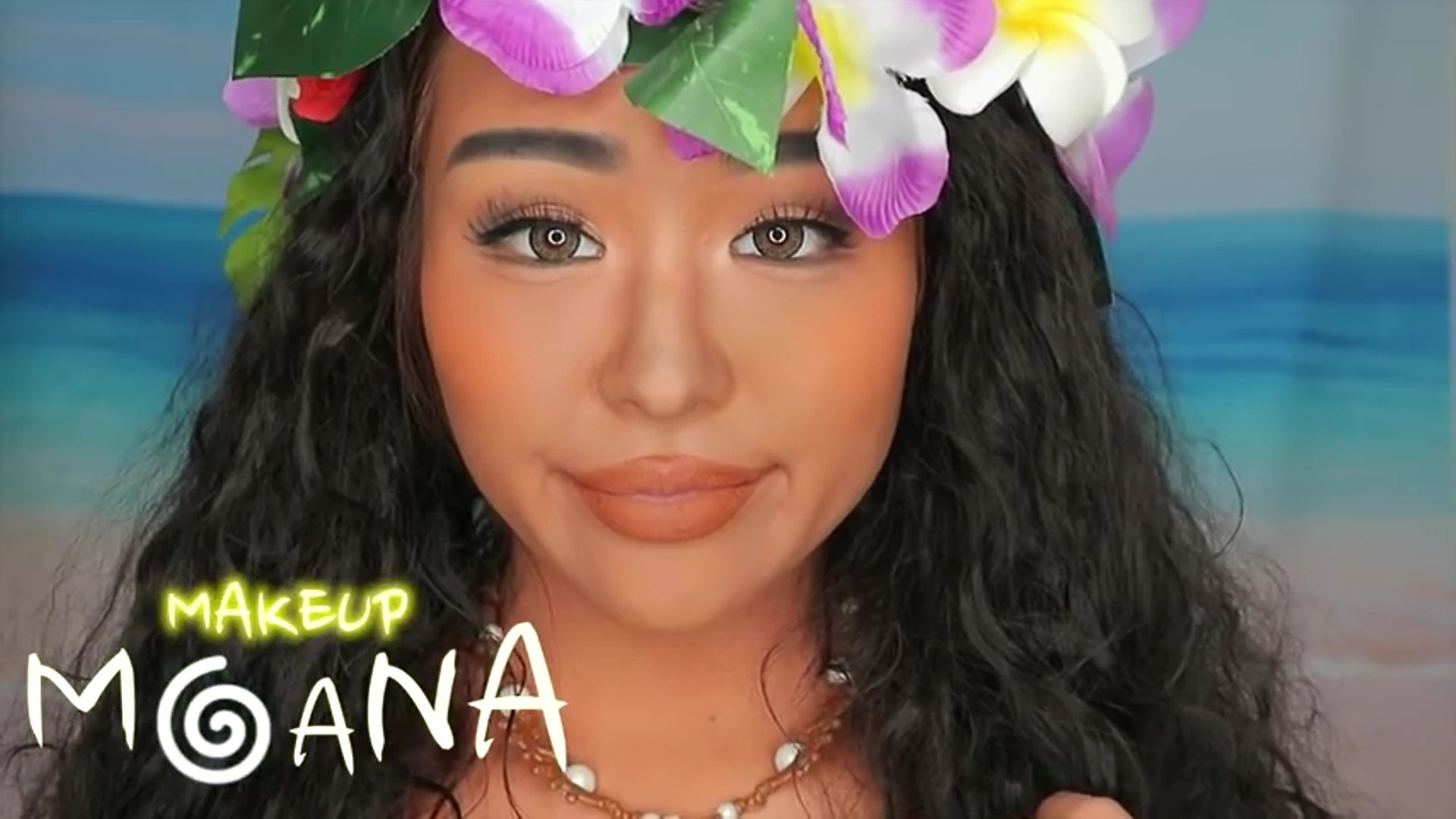 Maquíllate como Moana fukuse yuuriマリリン 2020. resultado fina del maquillaje de moana