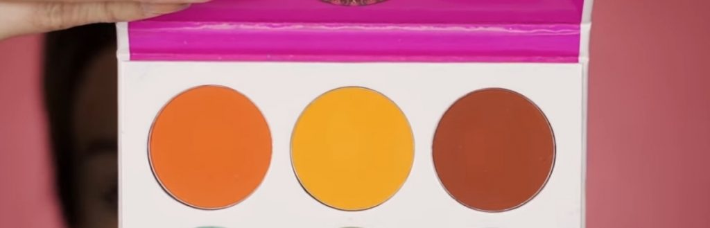Cut Crease paso a paso 2020 por Mariana Zambrano paleta colores