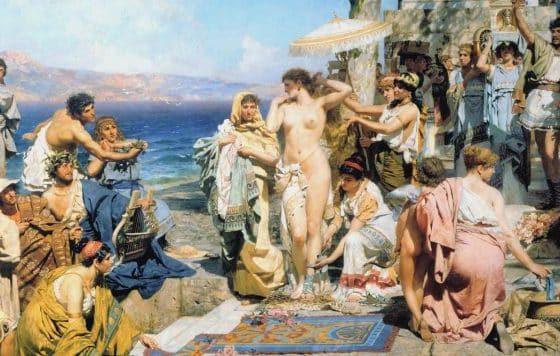 Tendencias de maquillaje y belleza de la antigua Grecia