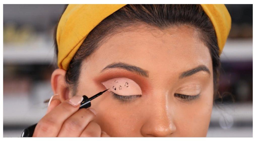 ¡Tutorial! Aprende a maquillar tus ojos de animal print con Roccibella diseño animal print