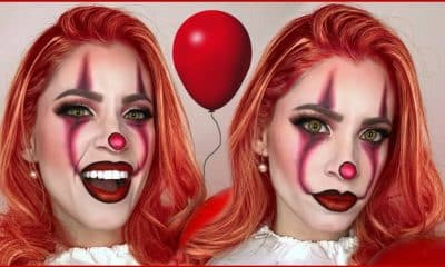 Pennywise maquillaje de mujer