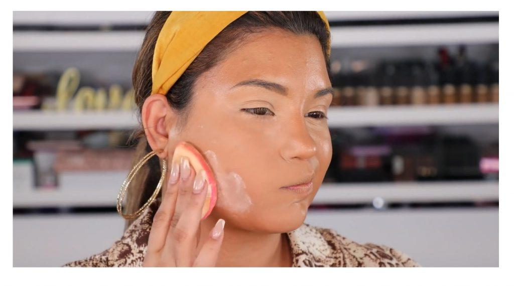 ¡Tutorial! Aprende a maquillar tus ojos de animal print con Roccibella polvo traslucido