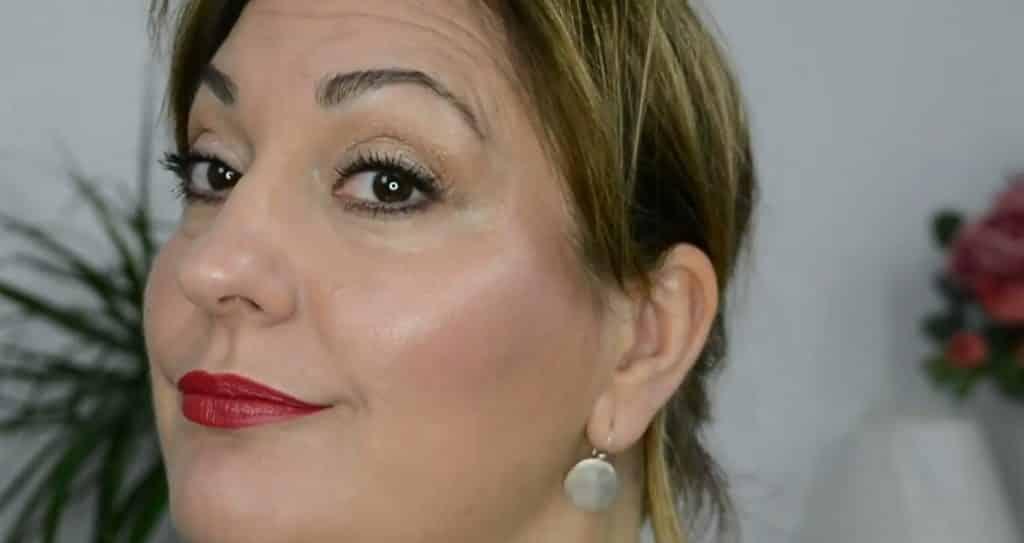 Maquillaje de verano para pieles maduras ¡Tutorial! Resultado final, noche