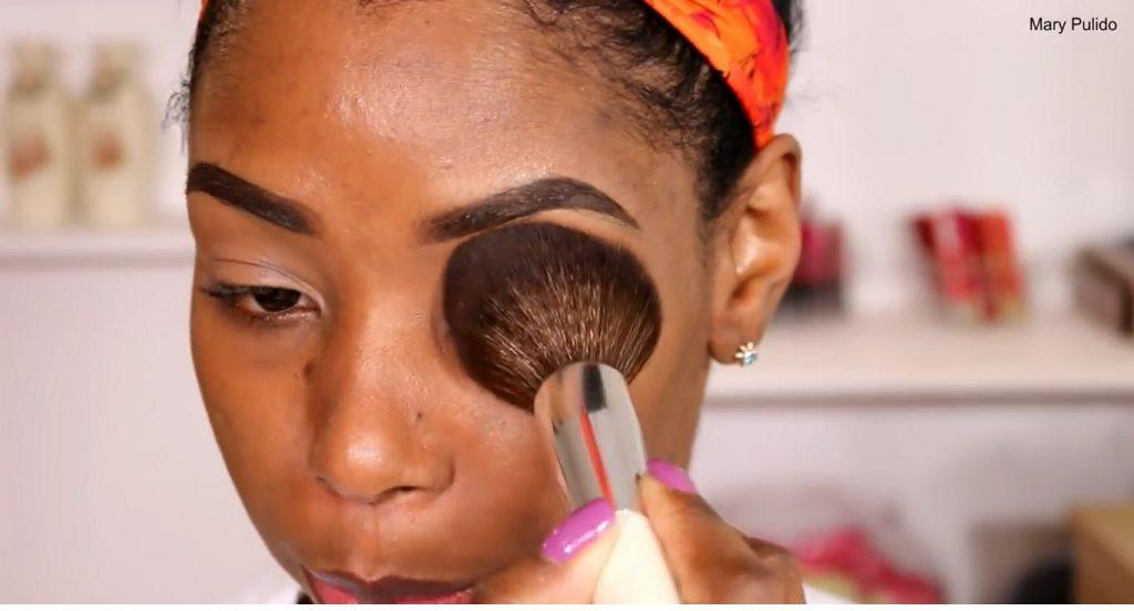 Tutorial de maquillaje de noche para piel morena sellar