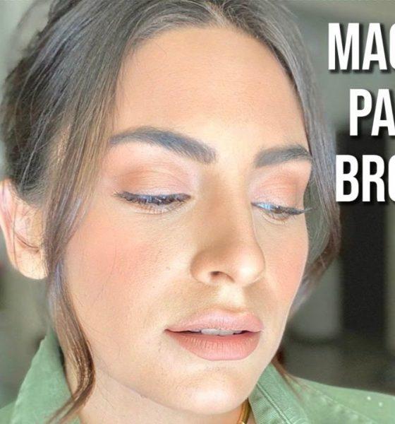 Tutorial de maquillaje bronceado para piel morena clara