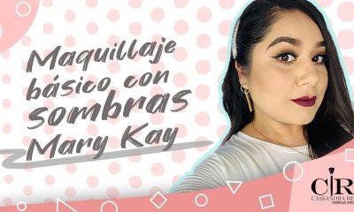 ¡Maquillaje básico con sombras Mary Kay! Tutorial