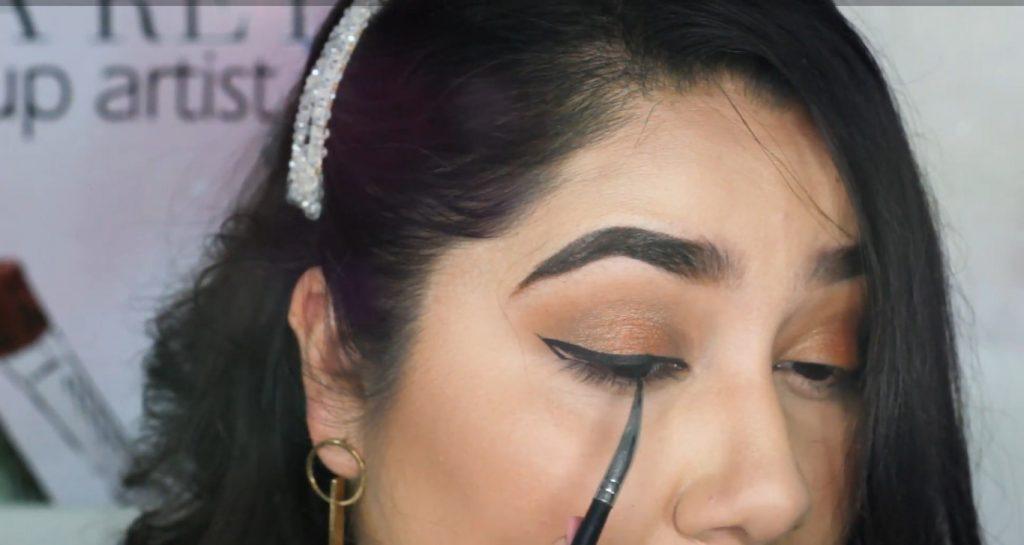 ¡Maquillaje básico con sombras Mary Kay! Tutorial Aplicar delineador en gel Mary Kay