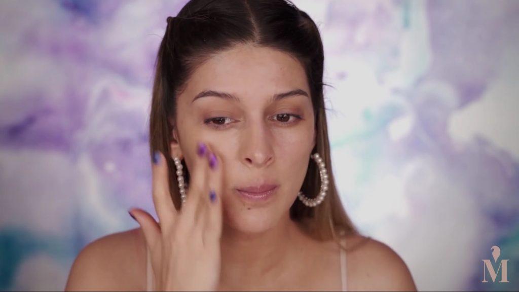 Maquillaje fácil y rápido para principiantes 2020,Base de la marca BB Cream Dr. jart +