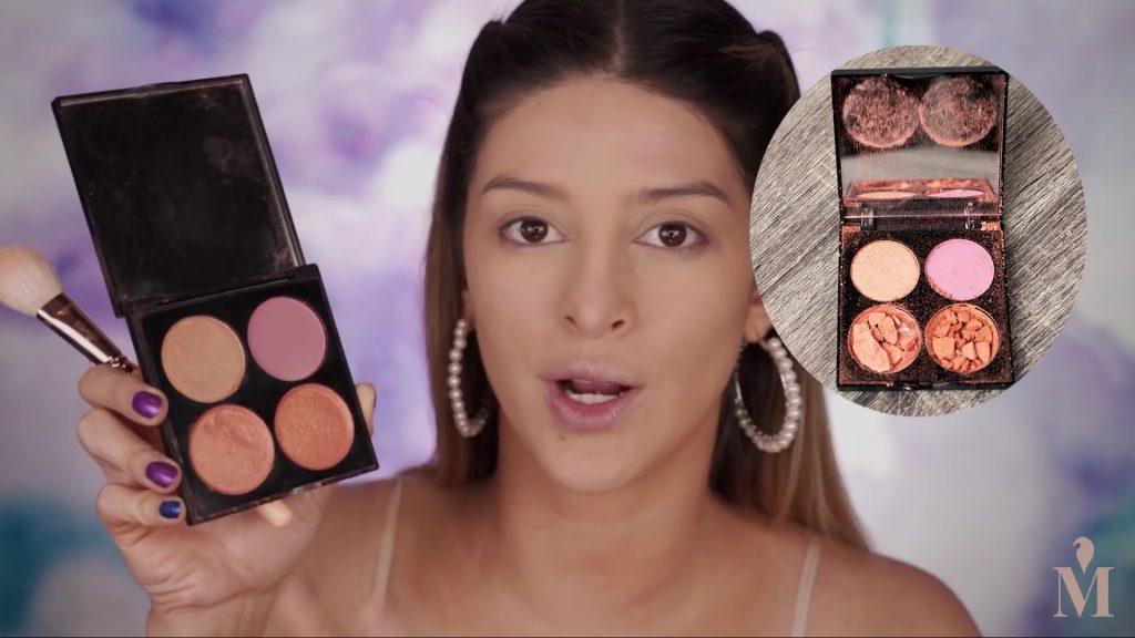 Maquillaje fácil y rápido para principiantes,Mariana Zambrano 2020,Paleta de Rubores GOC 102