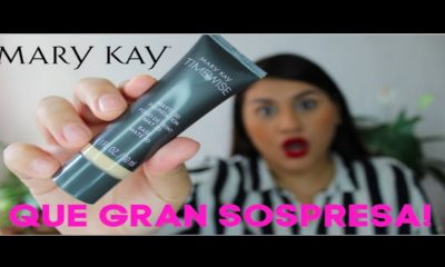 Con la base Time Wise de Mary KAy tu maquillaje durará impecable por más tiempo