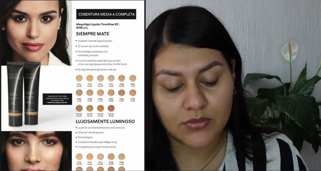 Con la base TimeWise de Mary Kay tu maquillaje durará impecable por más tiempo conoce la base TimeWise