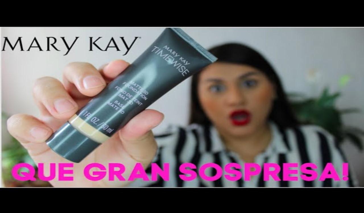 Con la base Time Wise de Mary KAy tu maquillaje durará impecable por más tiempo